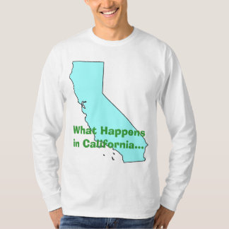 California What Happens T Shirts