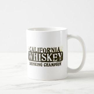 California Whiskey Drinking Champion Basic White Mug
