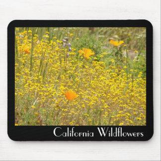 California Wildflowers Mousepad