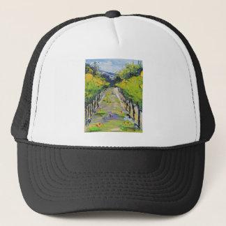 California winery, summer vineyard vines in Carmel Trucker Hat