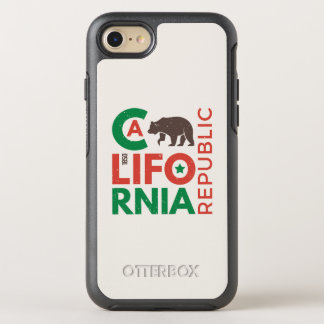 California With Grizzly Bear Logo OtterBox Symmetry iPhone 7 Case