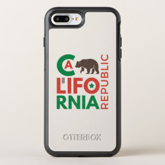 California With Grizzly Bear Logo OtterBox Symmetry iPhone 7 Plus Case