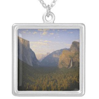 California, Yosemite National Park, Yosemite Square Pendant Necklace