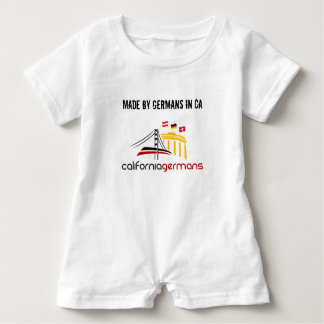 CaliforniaGermans Baby Romper in various colors