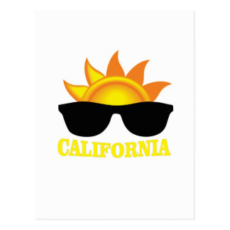 Californian cool postcard