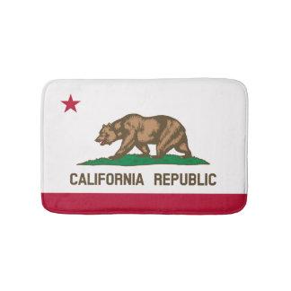 Californian flag, American state flag Bath Mat