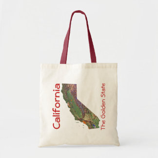 Californian Map Bag