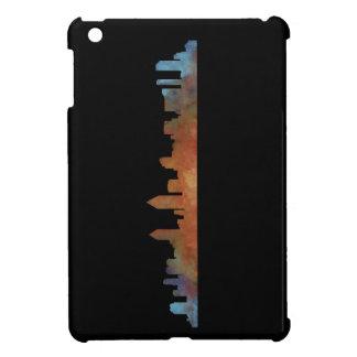 Californian San Diego City Skyline Watercolor v01 Cover For The iPad Mini