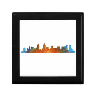 Californian San Diego City Skyline Watercolor v01 Gift Box