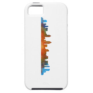 Californian San Diego City Skyline Watercolor v01 Tough iPhone 5 Case