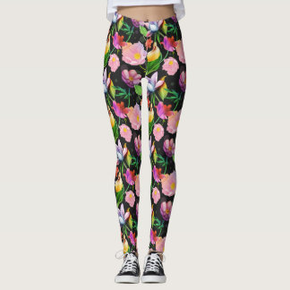 Californian Spring Floral Leggings