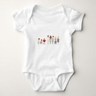 CaliforniaSibs Baby Bodysuit