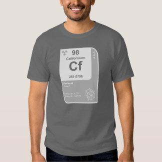 Californium (Cf) Tee Shirt