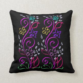 Caligraphy Flowers Cushion