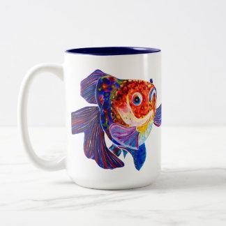 Caliico Veiltail Goldfish mug