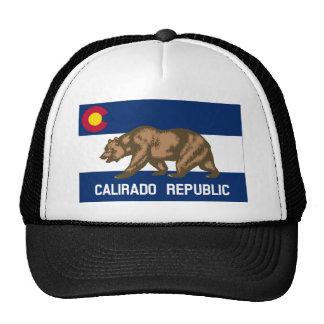Calirado Republic Flag Cap