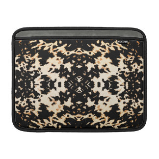 Calista Stylish Fashion Motif Design in Gold Sleeve For MacBook Air