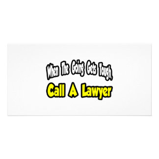 Call a Lawyer Picture Card