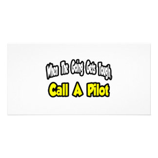 Call a Pilot Picture Card