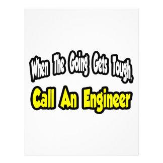 Call an Engineer Flyer Design