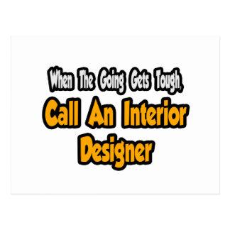Call an Interior Designer Post Cards