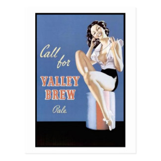 Call for Valley Brew Pale Postcard