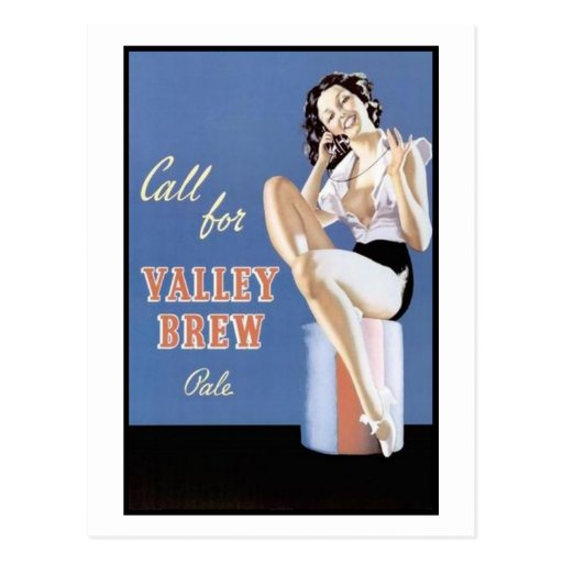 Call for Valley Brew Pale Postcards