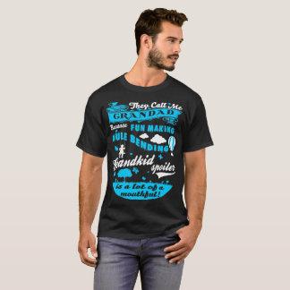 Call Grandad Fun Making Grandkid Spoiler Tshirt