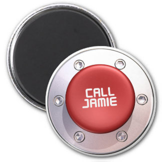 CALL JAMIE REFRIGERATOR MAGNETS