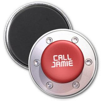 CALL JAMIE REFRIGERATOR MAGNETS