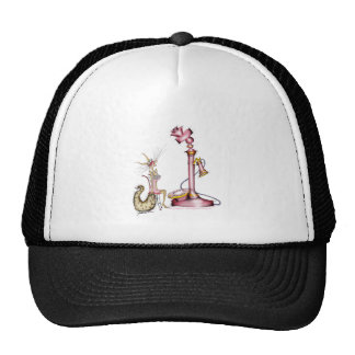 call me - a fun cat cartoon, tony fernandes cap