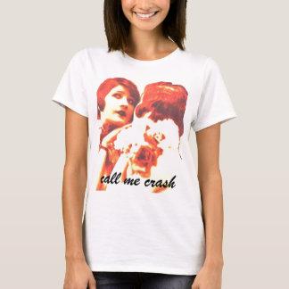 Call Me Crash: Girls Shirt (flapper)