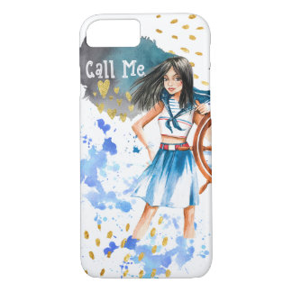 """Call Me"" iPhone Barely There phone case"