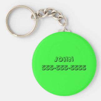 Call Me Keychain