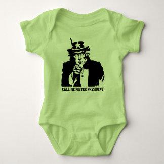 Call me President Baby Bodysuit