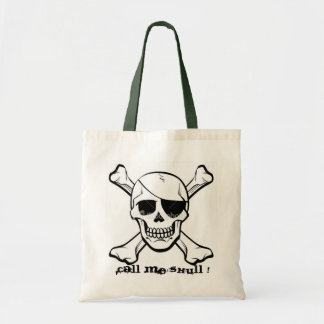 """""""Call me skull """" halloween bag"""
