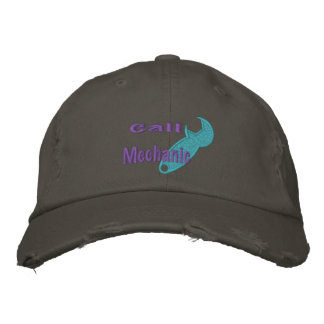 Call Mechanic Embroidered Hat