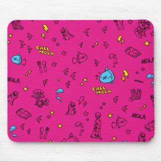 < CALL MOLA >mauzupatsudo Mouse Pad