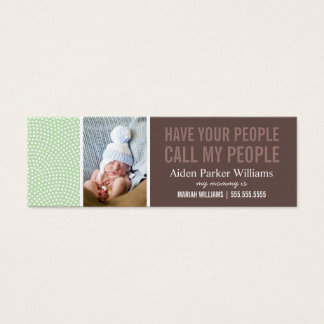 CALL MY PEOPLE   MOMMY CALLING CARD