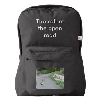 Call Of The Open Road Backpack
