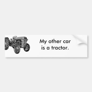 Call of the Wild Tractor Custom Bumper Sticker
