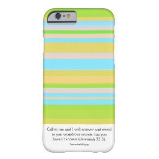 Call on God Barely There iPhone 6 Case
