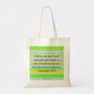 Call on God Tote Bag