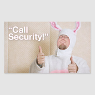 Call Security Sticker