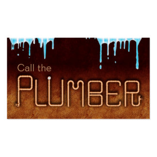 Call the Plumber Pack Of Standard Business Cards