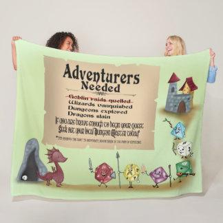 Call to Adventure Fleece Blanket