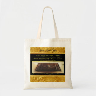 Call unto me, and I will answer thee Jeremiah 33:3 Tote Bag