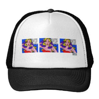 Call Waiting, Box Comic Trucker Hat (+colors)