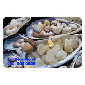 Call Your Mom phone number flexible magnets Agates