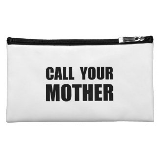 Call Your Mother Cosmetics Bags